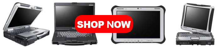 All used and refurbished Panasonic Toughbooks and Panasonic Toughpads are on sale!