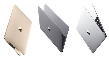 The used discount Early 2015 Macbook comes the three colors.